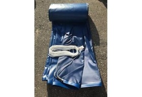 Pool Cover, Fits 17'1'x 45' Track Space - Navy