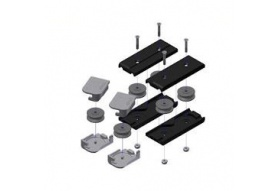 Vertical Flush Track Install Kit (Set of 2)