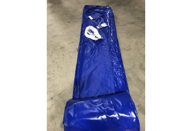 "Pool Cover, Fits 18'11""x 40'8"" Track Space - Royal Blue"