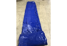 Pool Cover, Fits 18'x 32' Track - Royal Blue