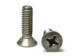 Phillips Flat Head Machine Screw (1/4-20 x 5/8