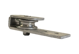 Under-Track End Cap Pulley Assembly