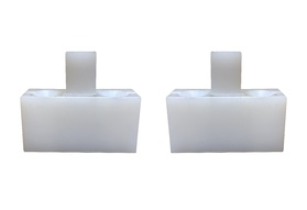 Under-Track Nylon Guide Feed (Set of 2)