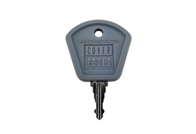 Gray Standard Key - Elektra Key Switch