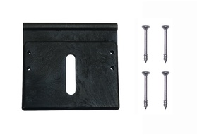 Universal Top & Under Track Slider with Screws